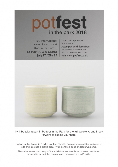 Potfest in the Park, Cumbria - image